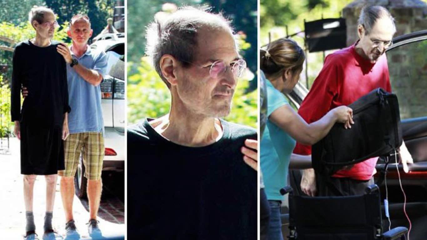 Стив Джобс перед смертью