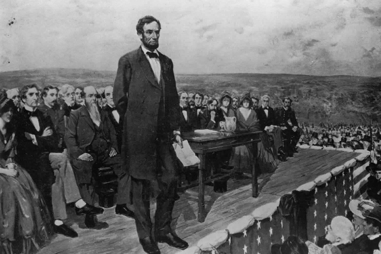 Выступление презедента Линкольна