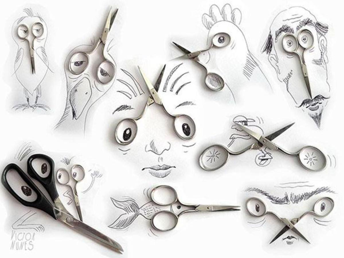 Креатив с ножницами