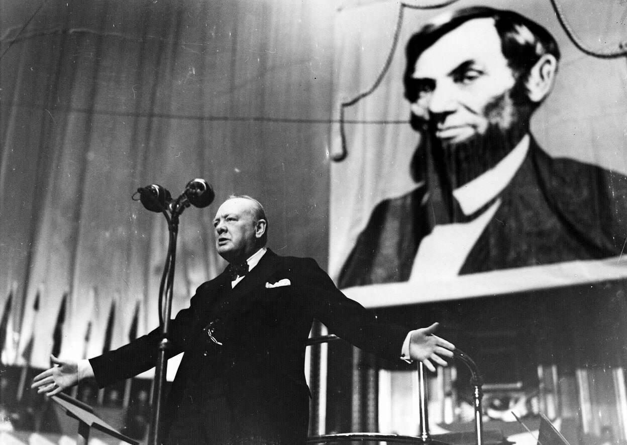 Выступление Уинстона Черчилля