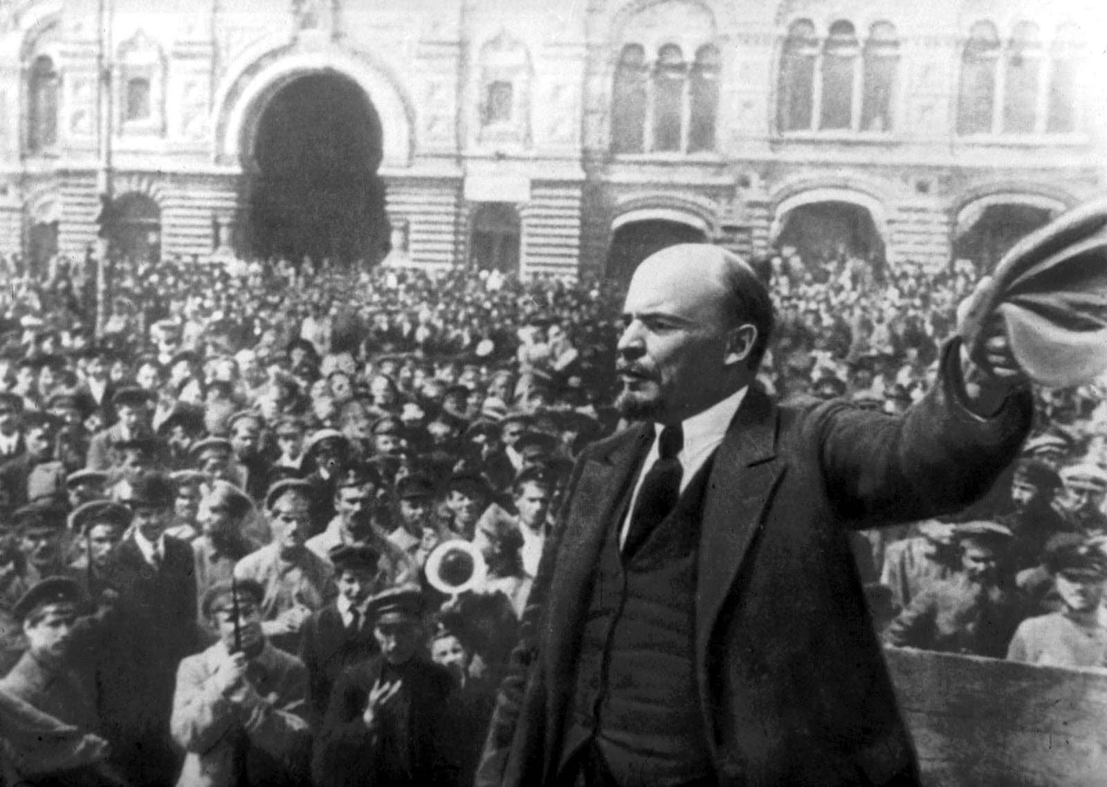 Выступление Владимира Ленина