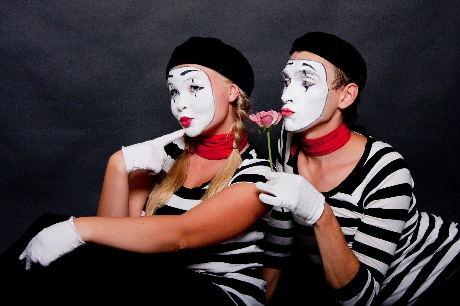 Актеры пантомимы