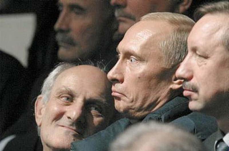 Мимика Путина