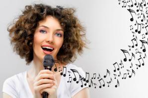 Женский голос
