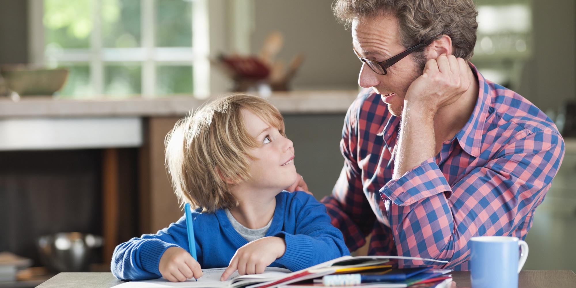 Как правильно разговаривать с ребёнком
